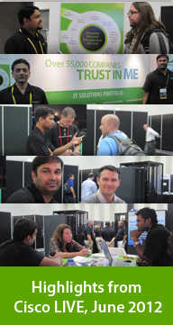 Highlights from Cisco LIVE, June 2012