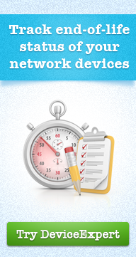 Track end-of-life status of your network devices