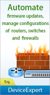 Automate Firmware Update of your Switches, Routers & Firewalls