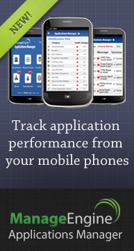 Track Application Performance from your Mobile Phones