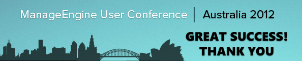 ManageEngine User Conference and Training - Australia