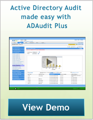AD Audit Plus demo