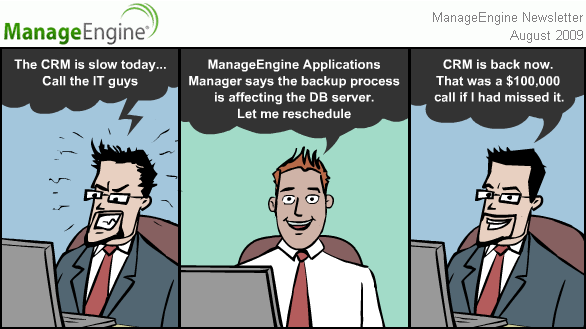 ManageEngine Newsletter July 2009