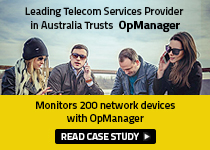 Leading Telecom Service Provider in Australia Trusts OpManager
