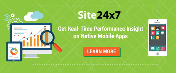 Get real-time performance insight on native mobile appss