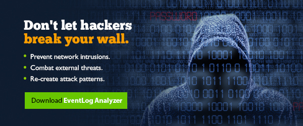 Protect your network from intrusion and threat with EventLog Analyzer
