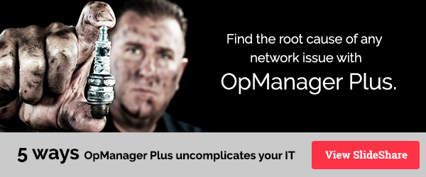 Learn five ways OpManager Plus uncomplicates your IT.
