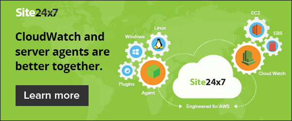 CloudWatch and server agents are better together.
