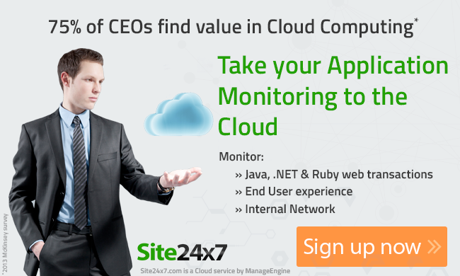 Take your monitoring to the cloud