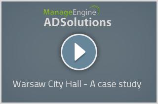 ManageEngine - ADSolutions