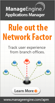 Rule out the network factor. Track user experience from branch offices.