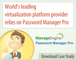 World's leading virtualization platform provider relies on Password Manager Pro