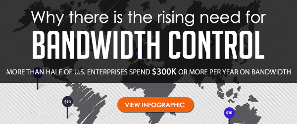 Check out this infographic on the rising need for bandwidth control