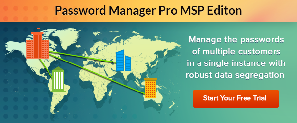 Password Manager Pro for Service Providers
