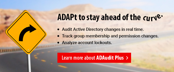 Real-time Active Directory auditing and much more.