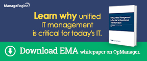 Learn why unified IT management is critical for today IT.