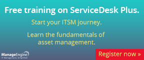 Free training on ServiceDesk Plus