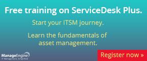 Free training on ServiceDesk Plus