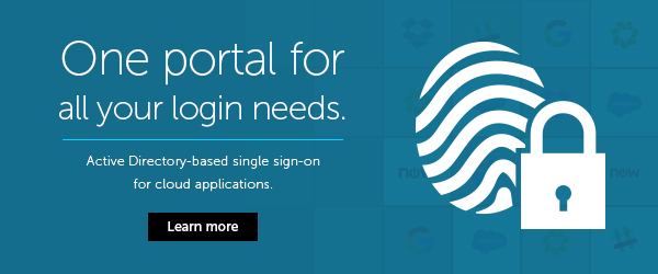 Single sign-on for over 80 cloud applications.