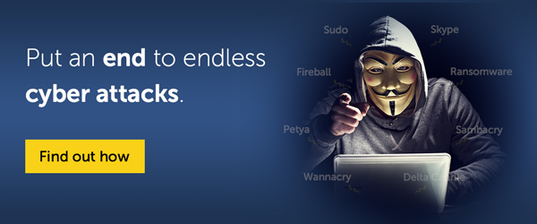 Put an end to endless cyber attacks.