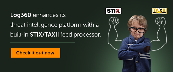 Enhanced threat intelligence with STIX/TAXII.
