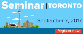 ManageEngine Seminar. Toronto. September 7th. Register now.