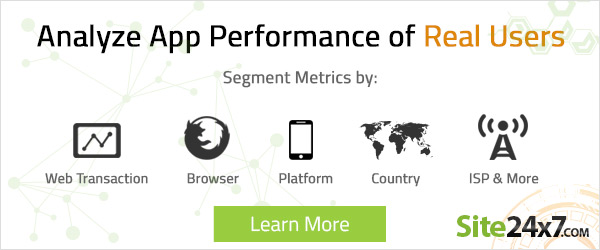 Analyze App Performance of Real Users