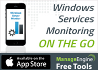 Windows Services Monitoring -  ON THE GO