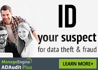 ID your suspect for data theft and fraud