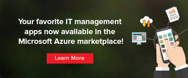 ServiceDesk Plus and Password Manager Pro listed in the Microsoft Azure Marketplace