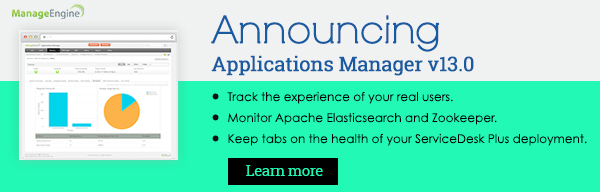 Announcing Applications Manager v13.0