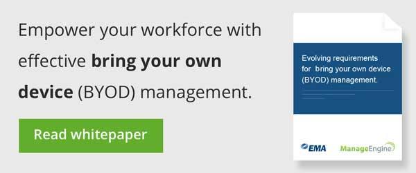 Whitepaper on BYOD management.