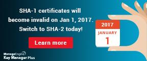 SHA 1 to SHA 2 migration guide