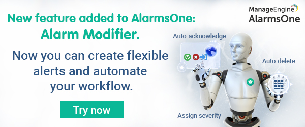 New feature - Create flexible alerts in AlarmsOne
