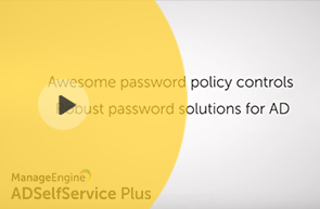 Awesome password policy controls Robust password solutions for AD