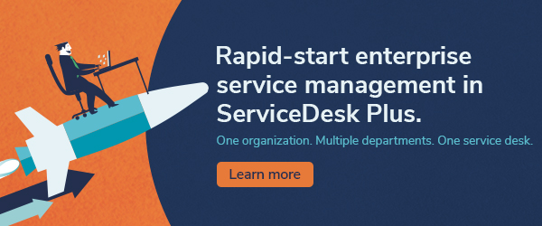 Create and deploy service desk instances in less than 60 seconds
