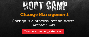 Boot Camp. Change management.