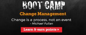 Boot Camp. Change management.