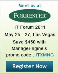 Forrester's IT Forum 2011