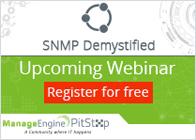 SNMP Demystified - A Webinar