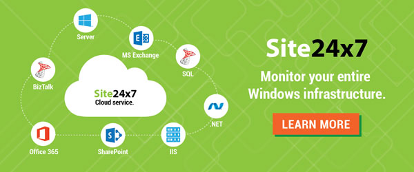 Keep an eye on your Windows infrastructure with Site24x7