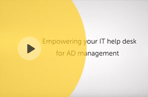 Empowering ServiceNow for Active Directory management