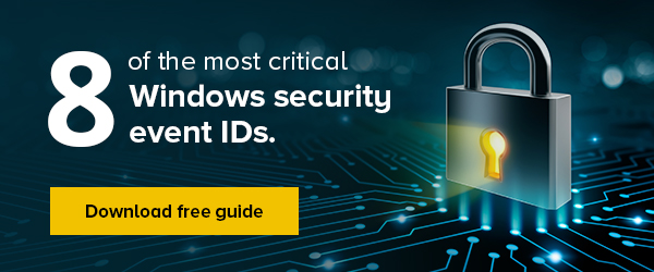 Free guide to the 8 most critical Windows security events
