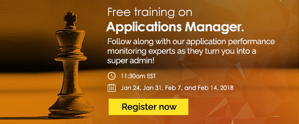 [Free online training] Applications Manager