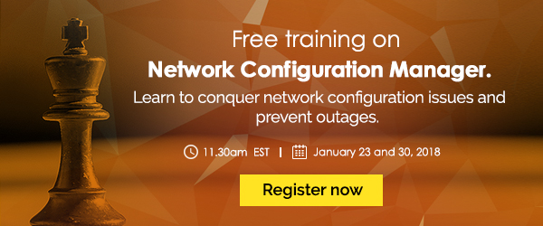 [Free online training] Network Configuration Manager