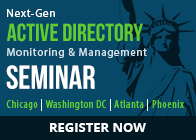 Next - Gen Active Directory Monitoring & Management Seminar