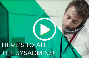 Here's to all the sysadmins