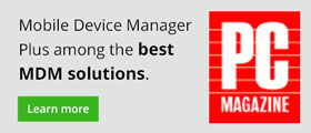 Mobile Device Manager Plus among the best MDM solutions.