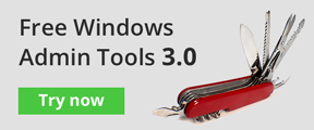 Free Windows Admin Tools 3.0. Try now.