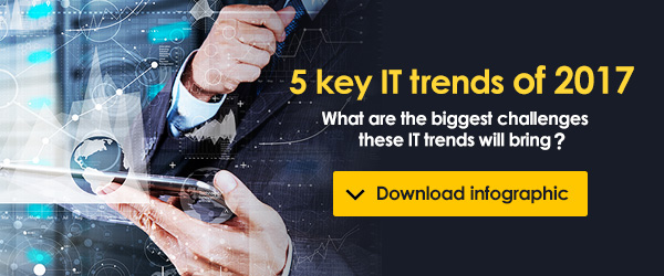 Free report on the 5 key IT trends and challenges of 2017.